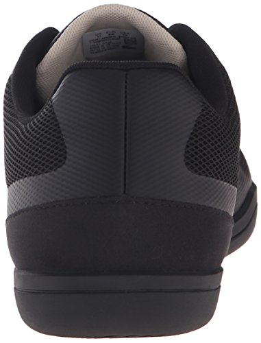 Lacoste Men's Court-Minimal Sport 316 1 Spm Fashion Sneaker, Black, 10 M US