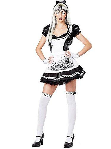 [Dark Alice Costume - Teen Small] (Alice Teen Costumes)