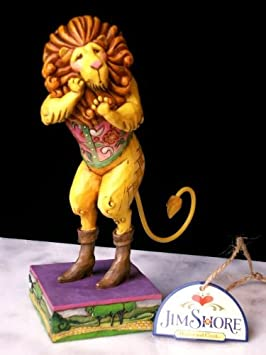 Enesco Jim Shore Heartwood Creek from Cowardly Lion Figurine 7 in