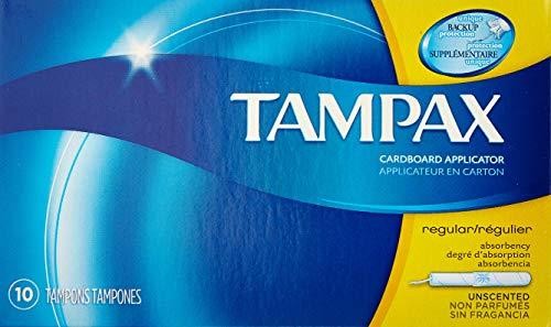 Tampax Tampons Regular 10 Each (Pack of 3)