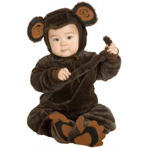 Plush Monkey Toddler Costume - 2T/4T Child (Toddler (2T-4T)) ()
