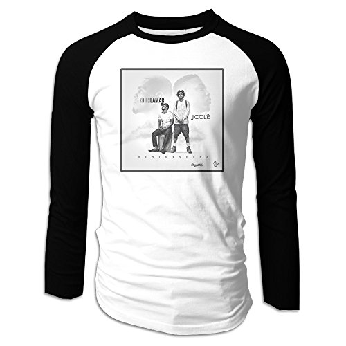 Men J.Cole And Kendrick Lamar Cool Long Sleeve Raglan for sale  Delivered anywhere in USA