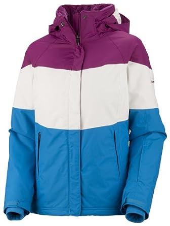 Columbia Paccaly - Chaqueta para mujer, tamaño XS, color frambuesa