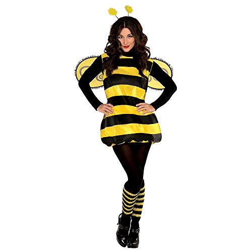 AMSCAN Darling Bee Halloween Costume for Women, Standard, with Included Accessories