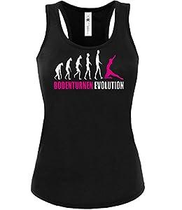 BODENTURNEN EVOLUTION 586(TT-F-SW-Weiss-Pink) Gr. S