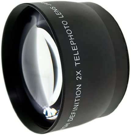Includes Lens Adapter Optics 2.0x High Definition Telephoto Conversion Lens for Nikon Coolpix P7100