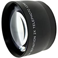 New 2.0x High Definition Telephoto Conversion Lens (58mm) For Canon GL2