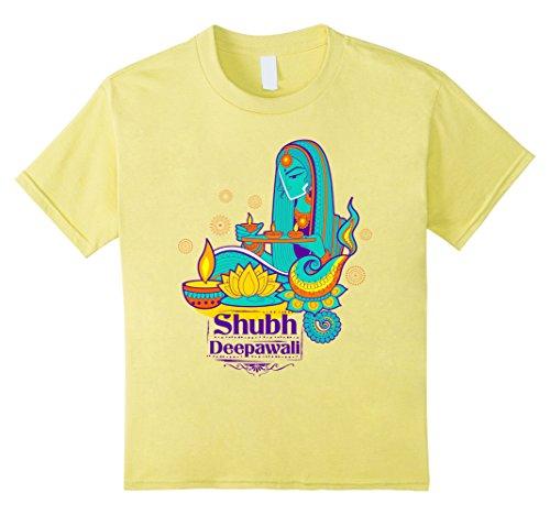 Kids Diwali Deepavali T-Shirt 4 Lemon by Diwali Deepavali