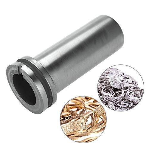 1kg/2kg/3kg High Purity Graphite Crucible Metal Melting Gold Silver Scrap Furnace Casting Mould Melt Jewelry Tools Graphite Casting Melting Ingot Mold for Gold Silver Metal (2kg) (Jewelry Casting Furnace)