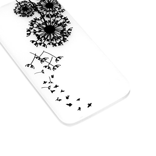Luminous Cover Coquille Nuit Luminous scratch Anti Series Housse Bumper Honor Mince Etui de Silicone Transparente Ultra Protection Huawei Luminous YOU 10 Choc Case BONROY Coque TPU LOVE Glow Souple Dandelion Dream Anti pour zxw1appv