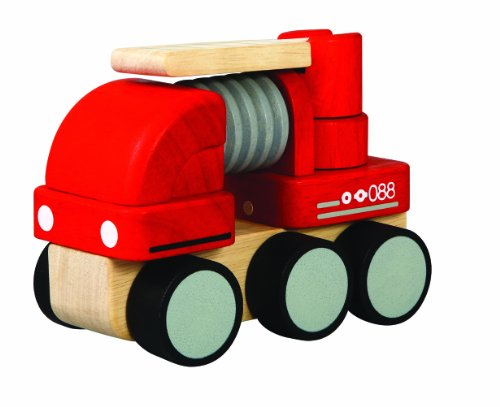 PlanToys Mini Fire Engine