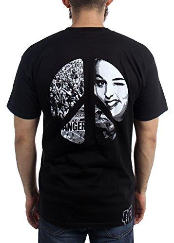 Black Deep 10 Pour Hommes Paix Violence De shirt T Sans OzPnqUO