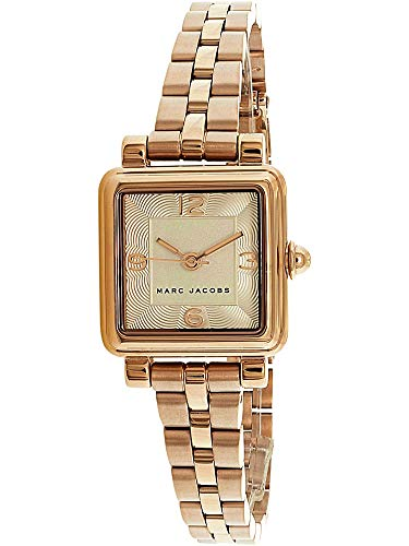 Marc Jacobs Women's 'Vic' Quartz Stainless Steel Casual Watch, Color:Rose Gold-Toned (Model: MJ3530)