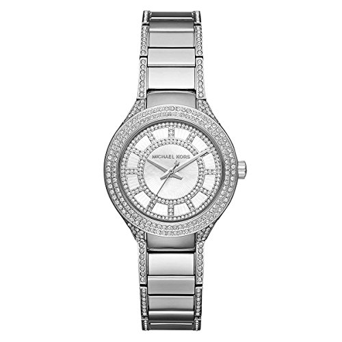 Michael Kors Women's Mini Kerry Silver-Tone Watch MK3441