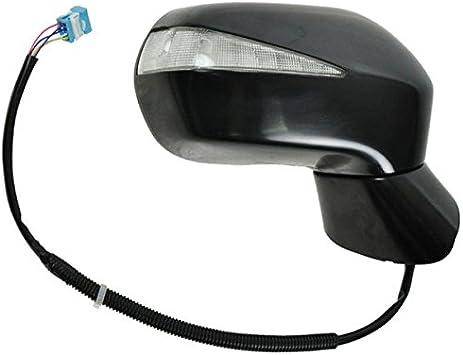 Power Heated Turn Signal Black Textured Mirror Pair Set for 06-11 Civic Hybrid