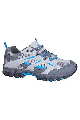 Mountain Warehouse Zapatos de senderismo Jungle para mujer Azul