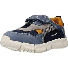Geox B FLEXYPER Boy A, Zapatillas para Bebés, Azul (Dk Blue/Navy C4mf4), 24 EU