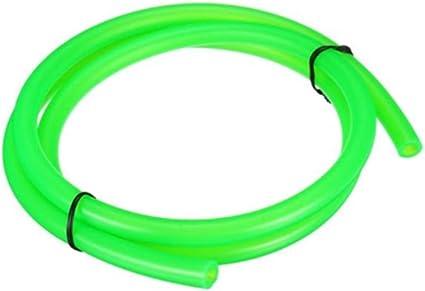 Viviance 1M 5Mm I//D 8Mm O//D Gasolina Combustible Manguera De Gasoil Tubo Universal para Moto Bike Verde