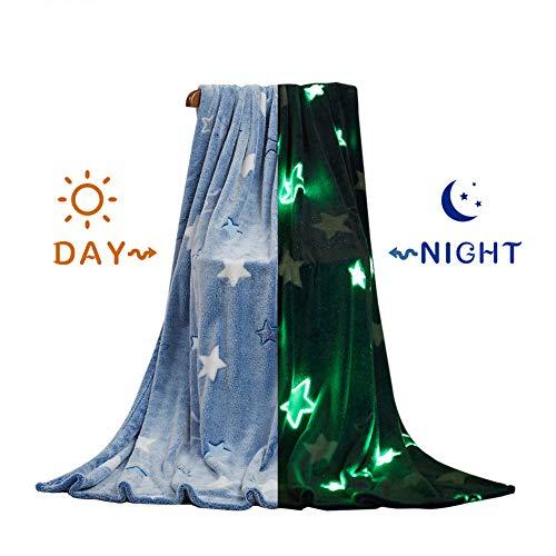 Blankets Throw Make Fleece - Glow In The Dark Fleece Throw Cozy Blanket Super Soft Flannel Fleece For Children Gift 50x60 Inch