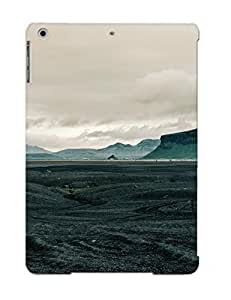 Crooningrose DLelr0ZxgWI Case Cover Ipad Air Protective Case Rocks On The Lava Field( Best Gift For Friends)