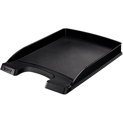 Briefkorb Leitz, flach schwarz, 1 Stück