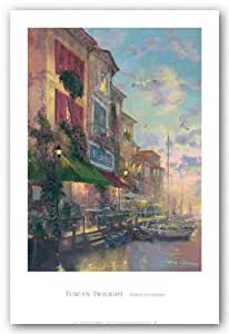 """Tuscan Twilight by James Coleman 24""""x36"""" Art Print Poster"""