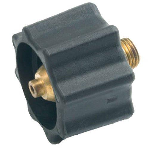 Mr. Heater Propane Acme Nut X 1/4-Inch Male Pipe Thread, Black