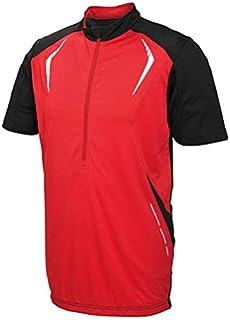 Crivit Sports® Men s Cycling Jersey Black black white Size M 48 50 ... 49deab2eb