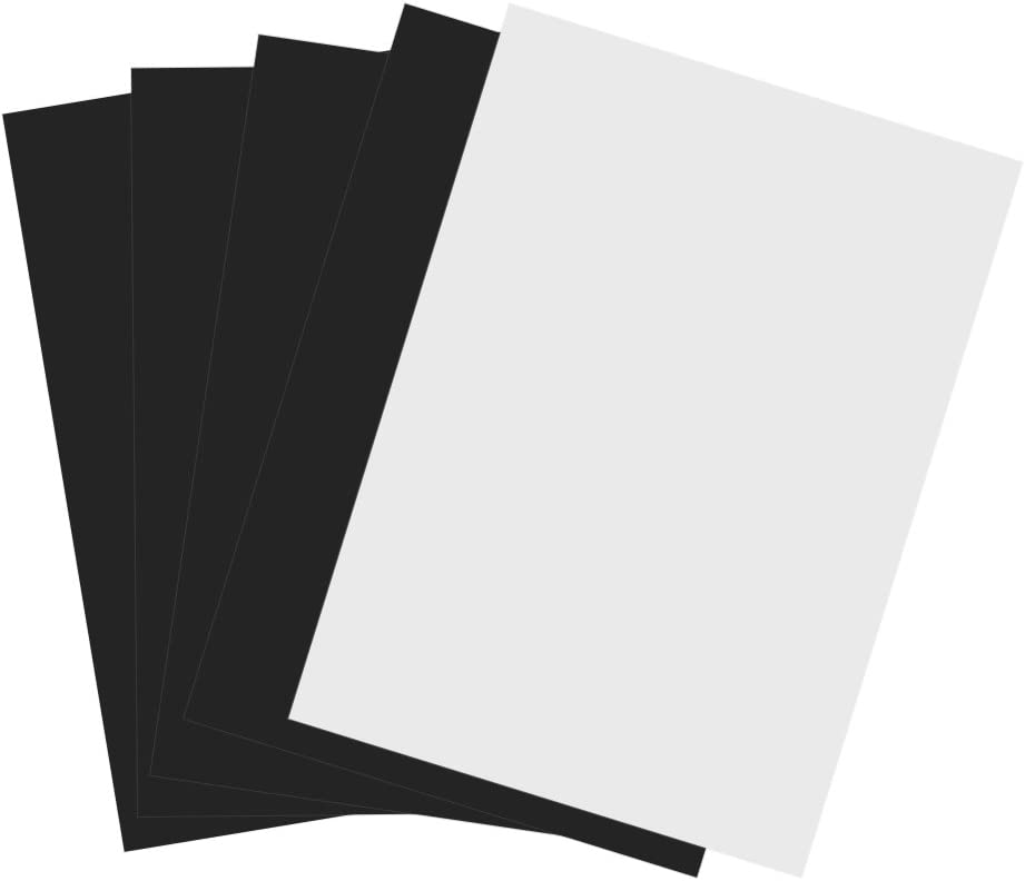 5 Piezas Imprimibles Hojas Imán A4 Impresión de Inyección de Tinta Magnética de Papel Fotográfico: Amazon.es: Oficina y papelería