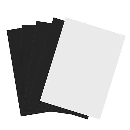 amazon com printable magnet sheets 5pcs a4 flexible magnetic