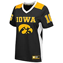 "Iowa Hawkeyes Women's NCAA ""Endo"" Fashion Football Jersey"