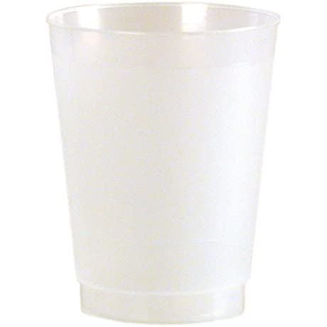 Frost Flex Plastic Drinking Cup 10 Ounce Frosted 500 Count
