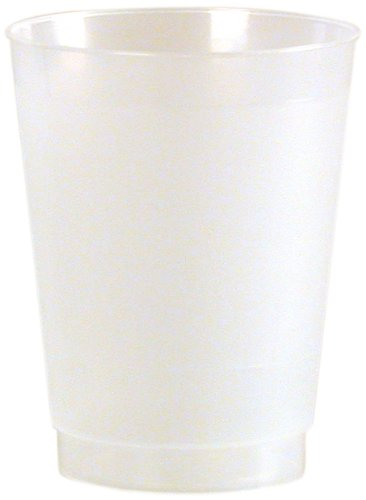 Frost-Flex Plastic Drinking Cup, 10-Ounce, Frosted (500-Count) by WNA