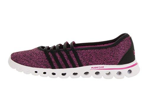 K-Swiss Womens X Lite MJ CMF Casual Shoe Black/Very Berry k6vuEbX8