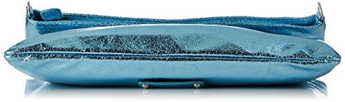 Boscha BO-1048-BT_BRONZE, Bandolera Mujer, 1x14x29 cm (B x H x T) Azul (alaska blue)