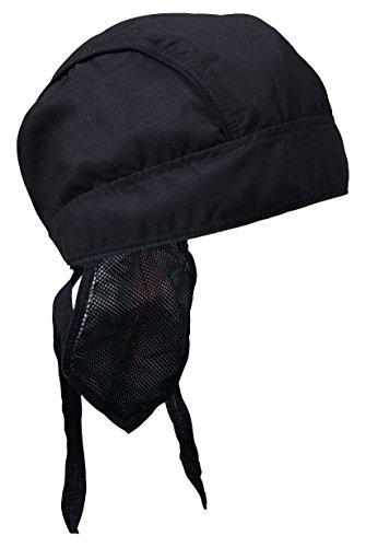 Hot Leathers Classic Premium Head Wrap (Black, OSFM) (Hot Leathers Wrap)