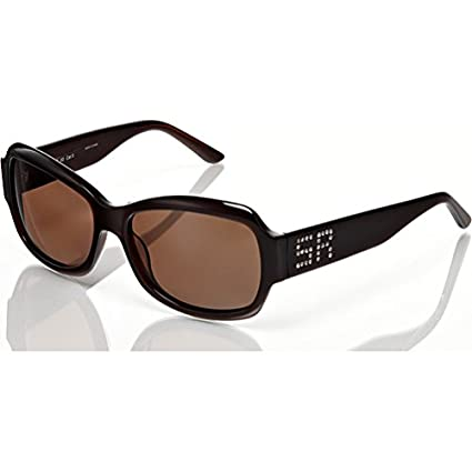 Amazon.com: Marco negro con gris lentes y Studded Detalle ...