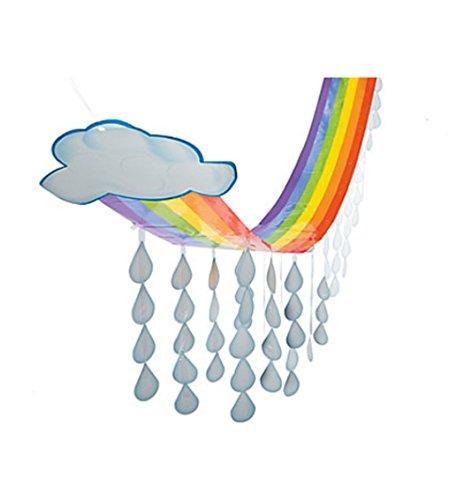 Paper Rainbow Cloud Ceiling Decoration