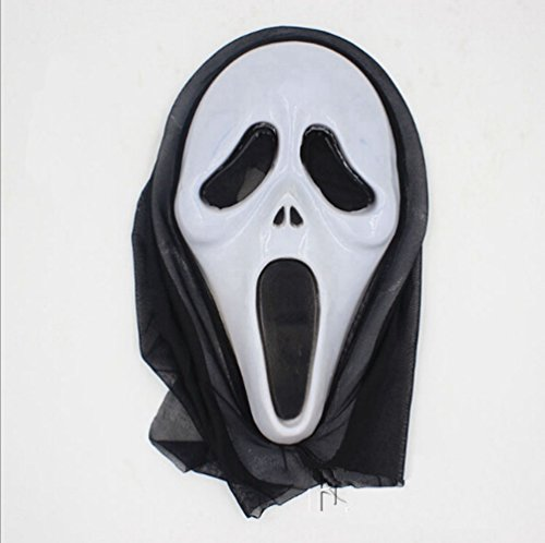 Zehui Can Be Used During Dress Party One Piece Halloween Bleeding Scream Scary Horror Ghost Mask (Mw2 Ghost Costume)