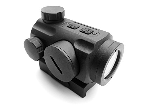 Ade Advanced Optics 1 x 20 Infrared Red Dot Scope Sight Quick Release Mount for NV Shooting Hunting by Ade Advanced Optics