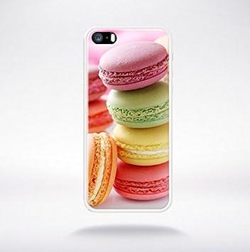 Etui Housse Coque Macarons Apple Iphone 5 - 5s: Amazon.fr: High-tech