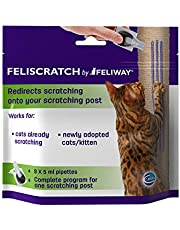 Feliway Feliscratch Cat Climbing and Scratching Post Pipettes to Redirect Scratching on to Scratching Post, 9x5ml Pipettes