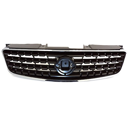 - Titanium Plus Autoparts, 2005-2006 Fits For Nissan Altima Front GRILLE CHROME GRAY