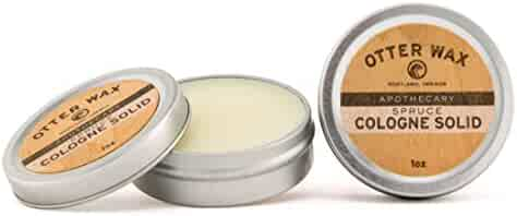 Otter Wax Spruce Cologne Solid | 1oz | All-Natural Fragrance | Made in USA