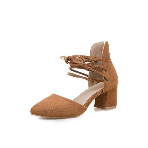 dimensioni heeled moda sandali sandali i appuntito grandi dei 45 gray sandali high signore sandali axvTtwq11