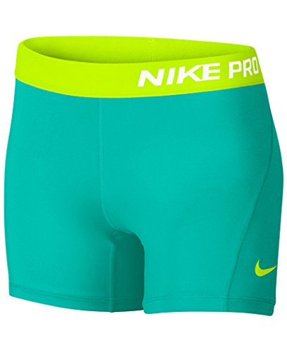 Nike Pro Cool Big Kids (Girls) 3 Training Shorts (XL (16 Big Kids) X One Size, Hyper (Tiger Spandex Shorts)