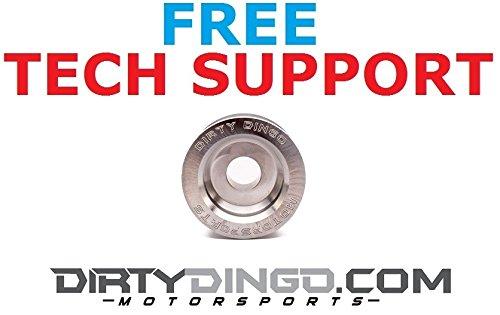 Billet Pulley - Dirty Dingo LS Billet Aluminum 6 Rib Alternator Pulley