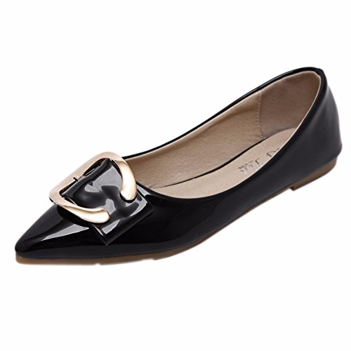 YUCH Zapatos Cómodos Para Zapatos De Mujer Black