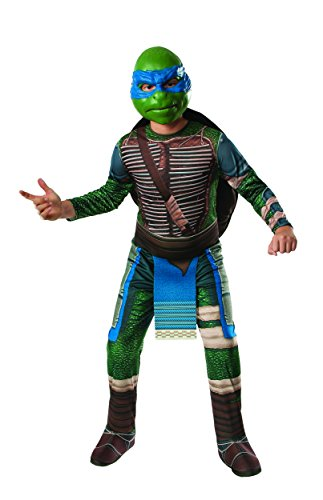Turtle Child Costumes (Rubies Teenage Mutant Ninja Turtles Child Leonardo Costume, Small)
