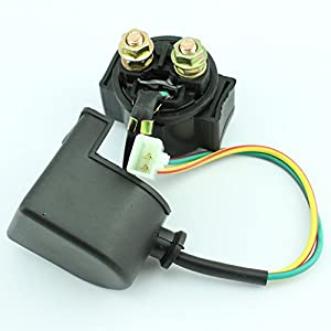 amazoncom starter solenoid relay  pit dirt bike atv